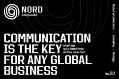 Nordhead Business & Corporate Font Product Image 2
