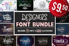 Designers font Bundle 11 Fonts Product Image 1