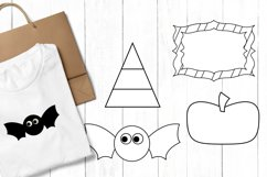 Halloween clip art graphics and illustrations Product Image 3