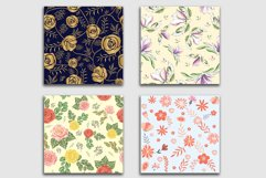 10 Floral Seamless Patterns Collection Product Image 12