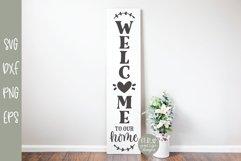 Porch Sign Mini Bundle VOL. 2 - 5 Vertical SVG Designs Product Image 2
