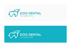 Dog Dental - Animal Stock Logo Template for Pet Care Shop Product Image 2