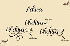 Achieva Script Product Image 3