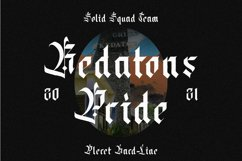 Datons - Blackletter Product Image 2
