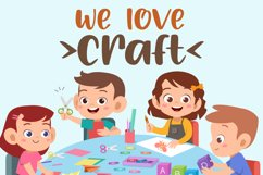 Hello Crafter a Handwritten Craft Font Product Image 2