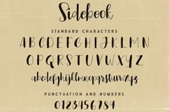 Sidebook Script Font Product Image 5