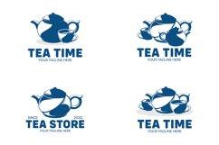 Set of the tea logo Product Image 1