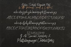 Relax SVG Marker Script Font Product Image 5