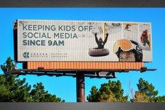 Corrugated Billboard Mockup Template Product Image 1