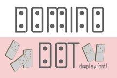 Domino-dot monospace san serif font duo Product Image 1