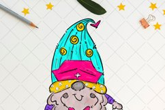 Nurse gnome, sublimation t shirt design, nurse png Product Image 2