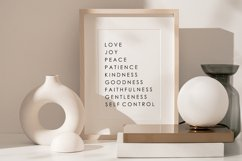 Fruit Of The Spirit, Scripture Wall Print, Love Wall Print Product Image 1