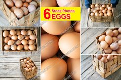 6 Photos Chicken Eggs Product Image 1
