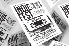 Indiefest flyer Product Image 1