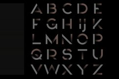 MAQN font Product Image 2