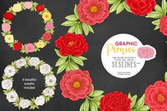 Pretty Peonies in Pink & Yellow Product Image 9