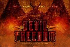 Web Font Hellfire Font Product Image 4