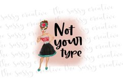 Sublimation Design Download   Funny T-Shirt Quote PNG Product Image 1