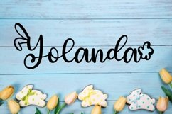 Rabbity - A Spring Font With Ears & Cotton Tails Product Image 6