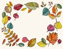 Vector Autumn Leaves Product Image 2