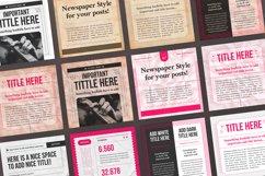 Newspaper Social Media Templates Product Image 9