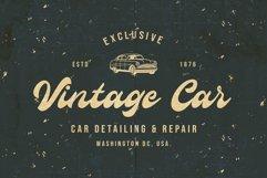 Antique Cable | Bold Script Product Image 5
