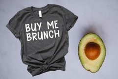Avocado Toast A Hand-Lettered Breakfast Font Product Image 3