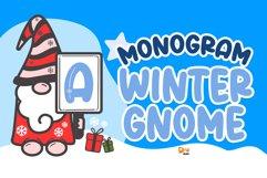 Monogram Winter Gnome Product Image 1