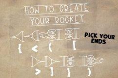 Rocket Kids - A Type-able Rocket Font Product Image 2