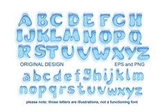 Holiday Season - ice font Product Image 6