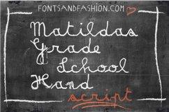 Matildas Grade School Hand_Script Product Image 2