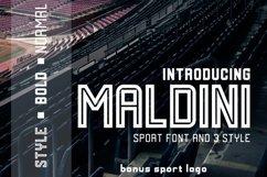 MALDINI - 3 STYLE & VECTOR LOGO Product Image 1