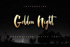 Golden Night script font Product Image 1