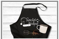 Santa's Helper Santa Hat Christmas SVG Product Image 2