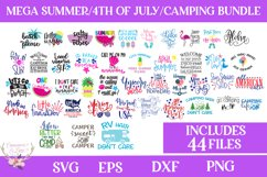 Summer, 4th of July, Camping Bundle - Includes 44 Files Product Image 1