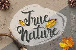 Outline Bold Script - Bro Rintto Font Product Image 3