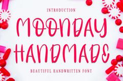 Monday Handmade - Cheerful Handwritten Font Product Image 1