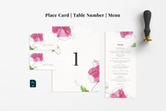 Abstract Flower Wedding Suite Product Image 3