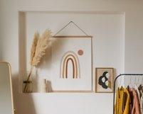 Abstract Rainbow Printable, Boho Nursery Wall Decor Product Image 2