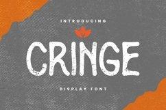 Web Font Cringe Font Product Image 1