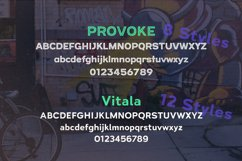 Urban Font | Inline Font Duo | Street Cred Product Image 3