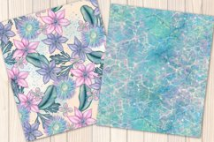 I washed up like this - Summer mermaid Seamless Patterns Product Image 4