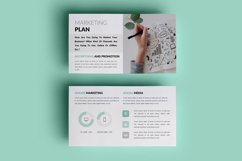 PPT Template | Business Plan - Green and Marble Product Image 10