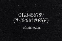 Croak Typeface Product Image 3