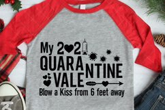2021 Svg, Quarantine Valentine Svg, Syringe Svg, 2021 Covid Product Image 3
