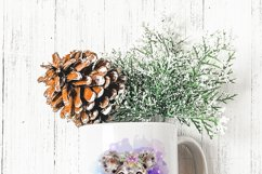 Floral Koala Baby and Mother Australian Animals Sublimation Product Image 4