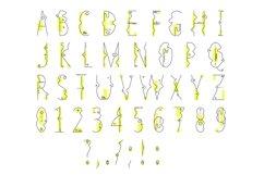 Web Font Line Flat font line flat icon Product Image 5