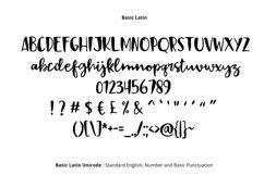 Black Sail Brush Font Product Image 2