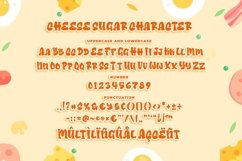 Cheese Sugar a Delicious Font Product Image 6