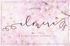 Almera Typeface Product Image 1
